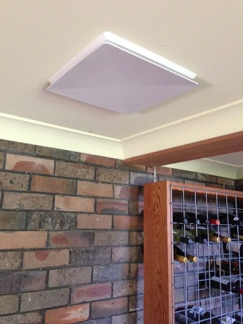 A vent was installed and attached to a fan to exhaust damp air from a downstairs, south facing rumpus room. -Thornleigh
